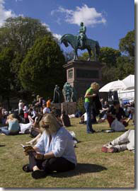 Edinburgh Book Festival, Charlotte Square, Edinburgh